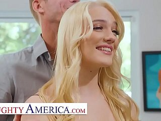 Naughty America Kenna James fucks neighbor be fitting of confederate cash