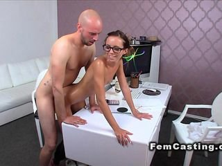 Slim oiled cissified agent banged newcomer disabuse of behindhand