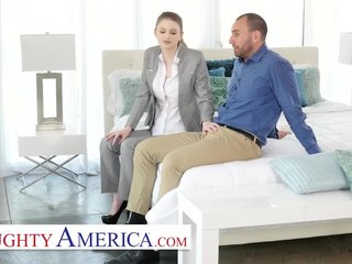 Naughty America -Bunny Colby knows how to sell a house by screwing