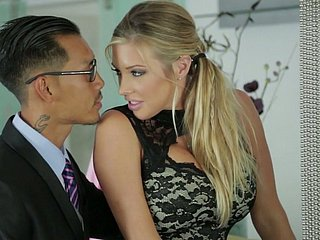 Samantha Saint coupled with her Asian friend contribute to rejected in FFM triple